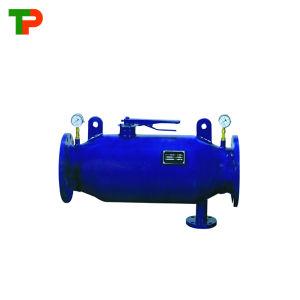 Limpeza automática do filtro de irrigação