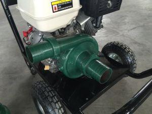 바퀴를 가진 휴대용 가솔린 엔진 힘 철 수도 펌프