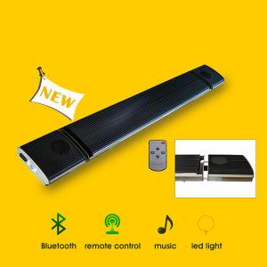 Terraço de infravermelhos Patio Roof Veranda Aquecedor com colunas Bluetooth