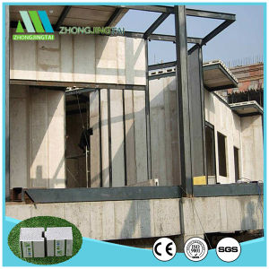 Installation facile thermique sandwich composite mur de ciment des matériaux de construction du Conseil