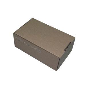 Boîte de papier ondulé sans colle