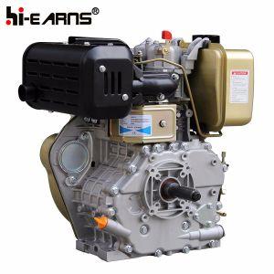 Dieselmotor met de Schacht van de Spiebaan met de Machine van de Bouw (HR186FA die) wordt gekenmerkt
