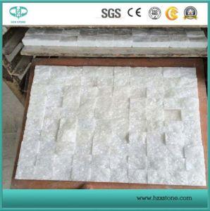 Natuurlijke Lei van de Tegels van het Mozaïek van Carrara van Bianco cultiveerde de Witte Marmeren voor Keuken Backsplash/het Comité van de Muur van de Badkamers/de Vloer van de Steen/van Ledgestone/van de Decoratie/van de Badkamers