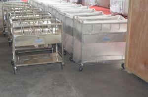 Aço inoxidável Bassinet com gavetas (THR-B004)
