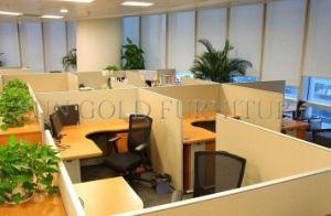 Nuevo sistema de partición de la Oficina de MFC melamina Oficina Oval Estación de trabajo (SZ-WST799)