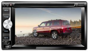 2 DIN 접촉 스크린 차 입체 음향 다중 매체 라디오 GPS 항법 오디오 DVD 플레이어