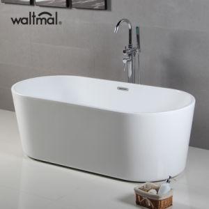 Vasca da bagno stretta ovale d\'inzuppamento acrilica ovale dell ...