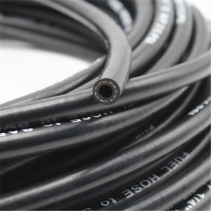Mangueira de Combustível de 3/8 polegadas preta com óleo SAE 30R7 Standard