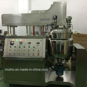Mzh-M 100Lの真空の高いせん断の乳状になるホモジェナイザーのミキサー機械