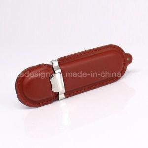 小型革様式USBのフラッシュ駆動機構のフラッシュ棒