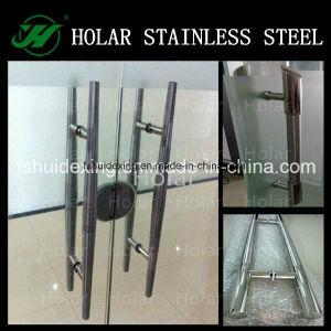 Maniglia di vetro di figura del portello H dell'acciaio inossidabile 304