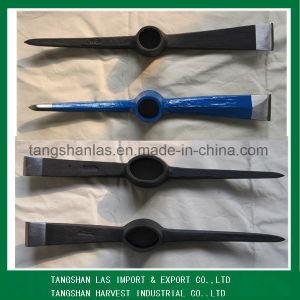 高品質の鋼鉄一突きヘッドつるはしおよび根堀りぐわP809A