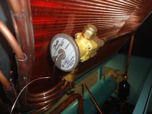 Serpentina d'evaporatore di rame dell'aletta per il radiatore industriale del sistema di raffreddamento