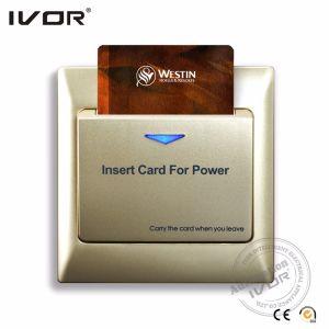 Ivor Chambre d'hôtel Alimentation du contacteur de la carte clé du contacteur de carte RFID MIFARE carte/ (SK-ES2000M1)