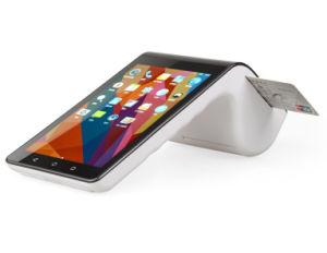 Androide intelligente Positions-Terminalmaschine mit eingebautem Kartenleser des Thermodrucker-PT7003