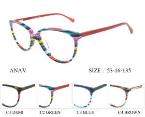 Frame van uitstekende kwaliteit van de Glazen Eyewear van de Meisjes van Glazen het Hoogste Optische