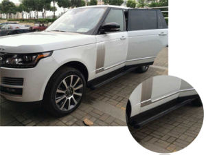 Pasos laterales para caber Land Rover Discovery 3 /& 4 barras laterales que ejecutan las placas no OEM