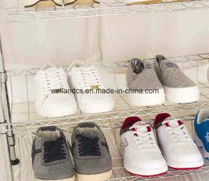 4 صفّ [ديي] قابل للتعديل كروم [متل وير] حذاء رصيف صخري منام