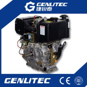 456cc空気によって冷却される単一シリンダー11HPディーゼル機関(DE188F)