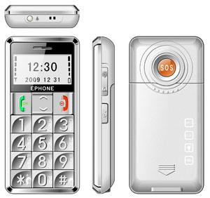 Telefono mobile maggiore E98 con la grande chiave Quadband del basso-Relievo sbloccato