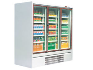 Pequeño Pato Tienda refrigeradores Fénix con la certificación CE