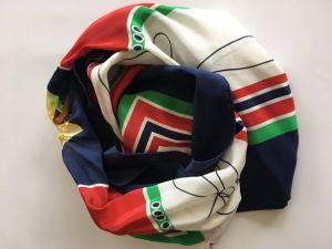 2017 новейших Fashion Lady шелковые шарфы с шаль методом трафаретной печати