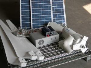 Vento e sistema ibrido solare 5kw