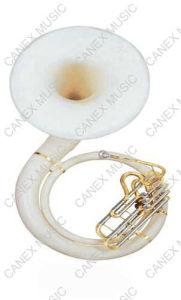 Sousaphone principal de fibre de verre de Bb (TUS-130L)