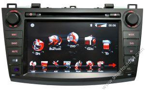 Sistema 2010 di navigazione di GPS DVD per Mazda 3