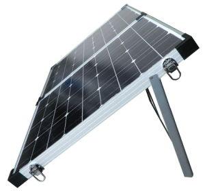折る太陽電池パネル100watts