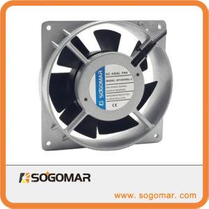Панель управления электровентилятора системы охлаждения двигателя 120X120X38мм 220-240 В переменного тока серебра 100%медной обмотки для охлаждения