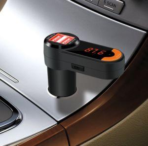 Il trasmettitore di Bluetooth FM di prezzi di fabbrica per l'automobile e le mani liberano le chiamate con il giocatore MP3