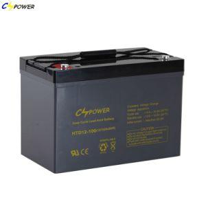 Mayorista de OEM 12V 100Ah batería de alimentación de plomo ácido para UPS EPS