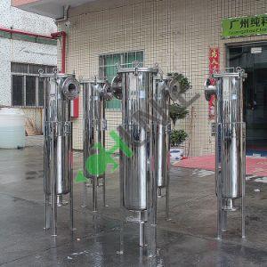 Costo del filtro a sacco dell'acqua dell'acciaio inossidabile di Chke/filtro a sacco