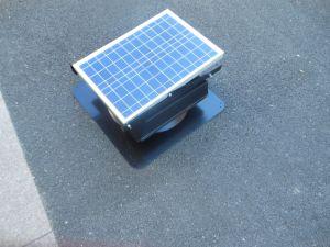 Ventilación Ventilador de techo solar Ático Solar Ventilador d.c.