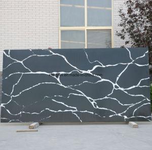 SGS Standards (黒いCalacatta)とのSolid Surface/Building Materialのための人工的なQuartz Stone