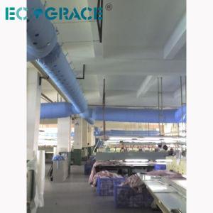 Воздуховоды подачи воздуха полиэстер огнеупорный Оксфорд ткань распределительный воздуховод