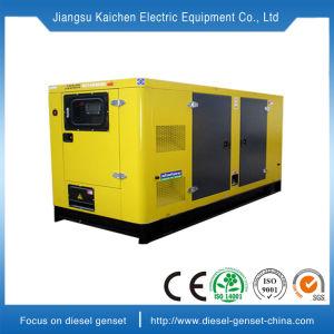 Super Stille Diesel van de Luifel 100kVA Stille Generator met Beroemde Motor en Alternator