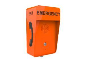 Caixa de Chamada de emergência na estrada à prova de intempéries, Auto-estrada Telefone Sos Pilar, Tollway telefone de emergência