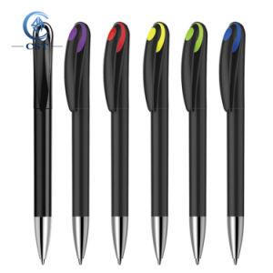 Barato regalo de promoción personalizada impresa lápiz bolígrafo de plástico con Logo