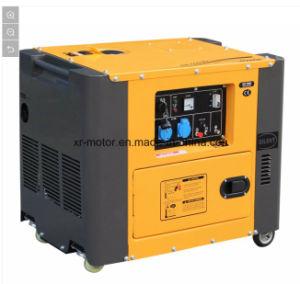 5kw携帯用Air-Cooled無声ディーゼル発電機