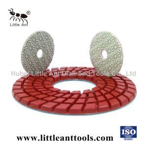 200mm-300mm per marmo, granito, tampone a cuscinetti per lucidare del diamante del pavimento