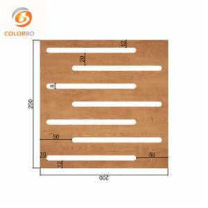 Emplacement de contrôle du bruit panneau acoustique en bois pour le cinéma/Home/Hall