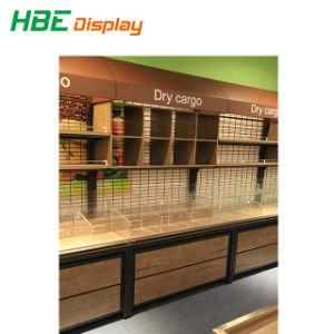 Verbrauchergrossmarkt-feste starke Frucht-Standplatz-Gemüse-Hochleistungszahnstange