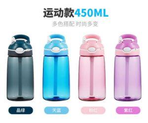 Gute Qualität Tritan Sports Wasser-Flasche mit dem freien Stroh BPA