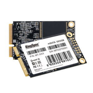 Kingspec Mt-512 твердотельных накопителей Msata 3D-MLC NAND внутренний твердотельный жесткий диск для промышленных ПК/POS/мини-ПК