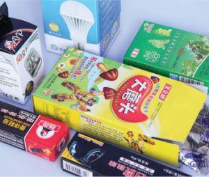 Складывание машины упаковки из картона цены в Индии (GK-650GS)