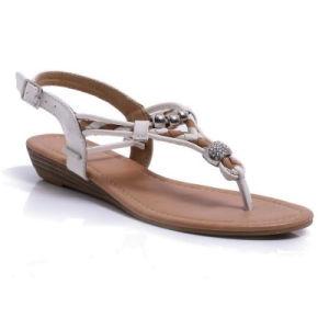 Belles Femmes de l'été TPR semelle des chaussures sandales Lady occasionnel