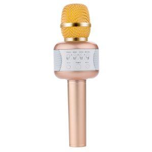 Karaoke de mano inalámbrico de micrófono altavoz Bluetooth para teléfono móvil apoyar todos los dispositivo USB.