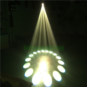 17r段階DJはHead350Wを移動する洗浄点LEDを発する